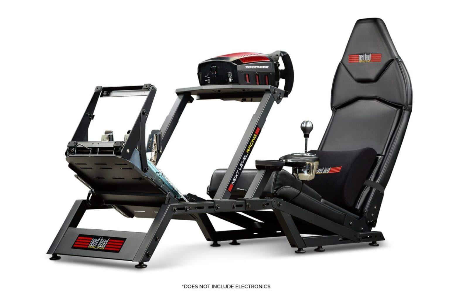 F-GT Matte Black Simulator